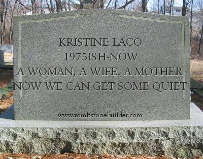 Mum Revised: May She RIP