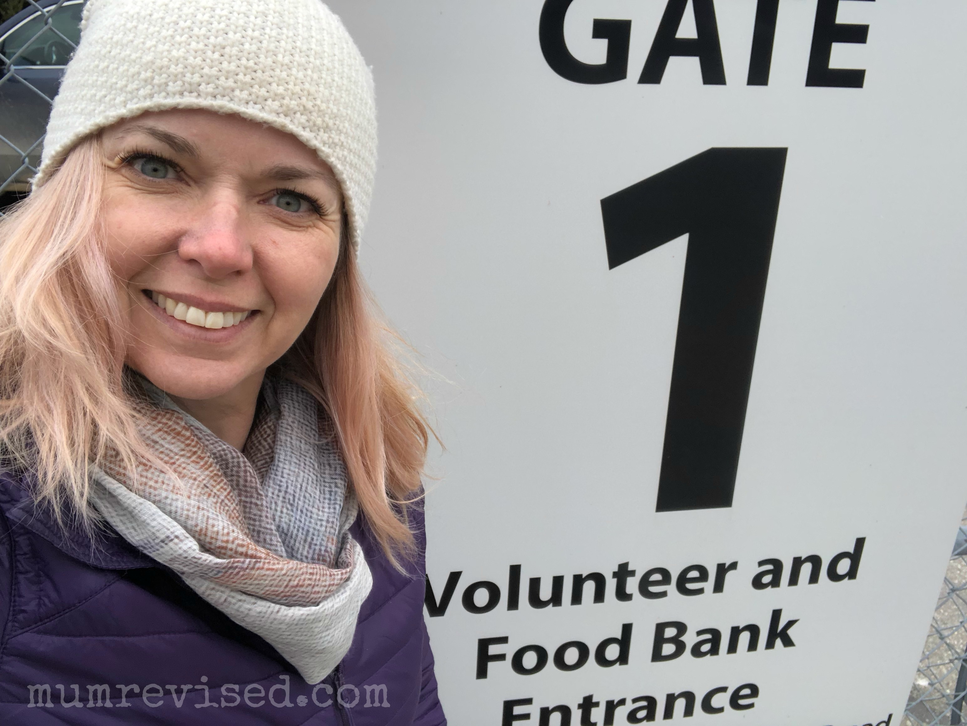 Week 17: Volunteering at a Food Bank