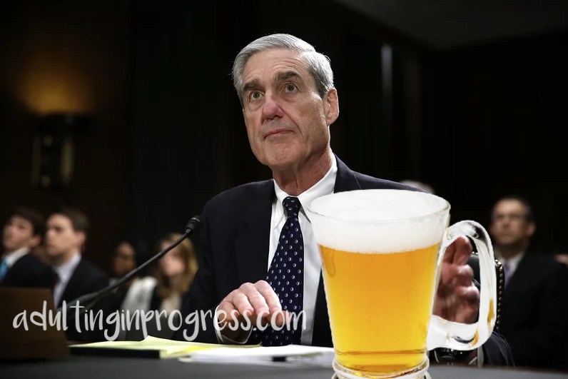 Alcohol Pairings While You Watch the Mueller Report