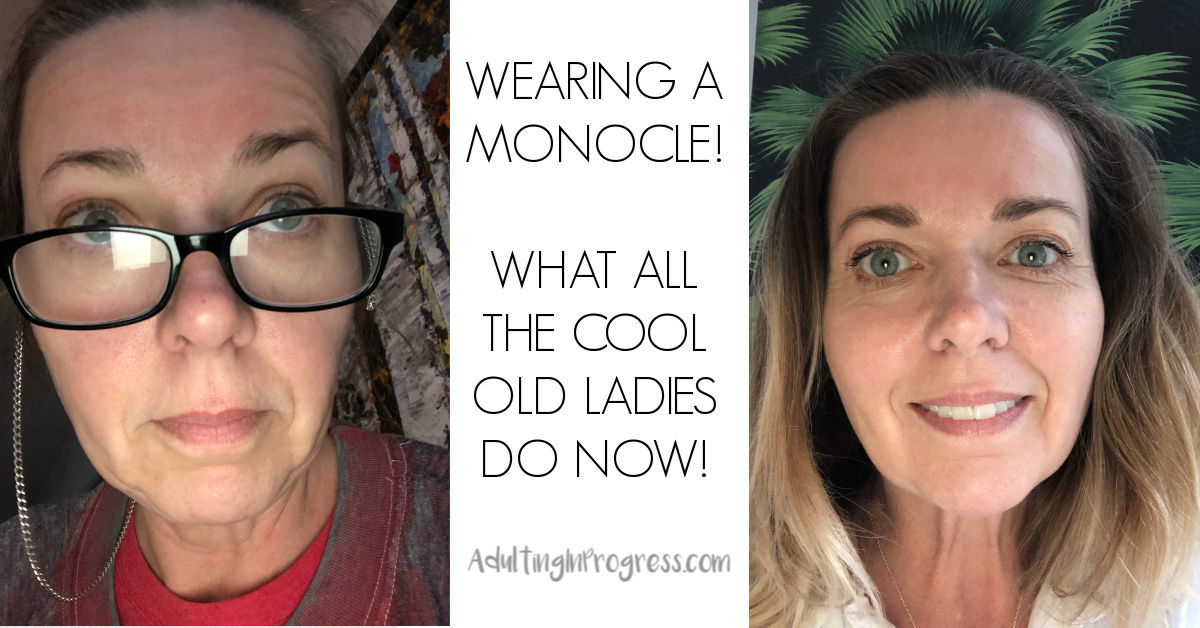 Monocles Make a Comeback